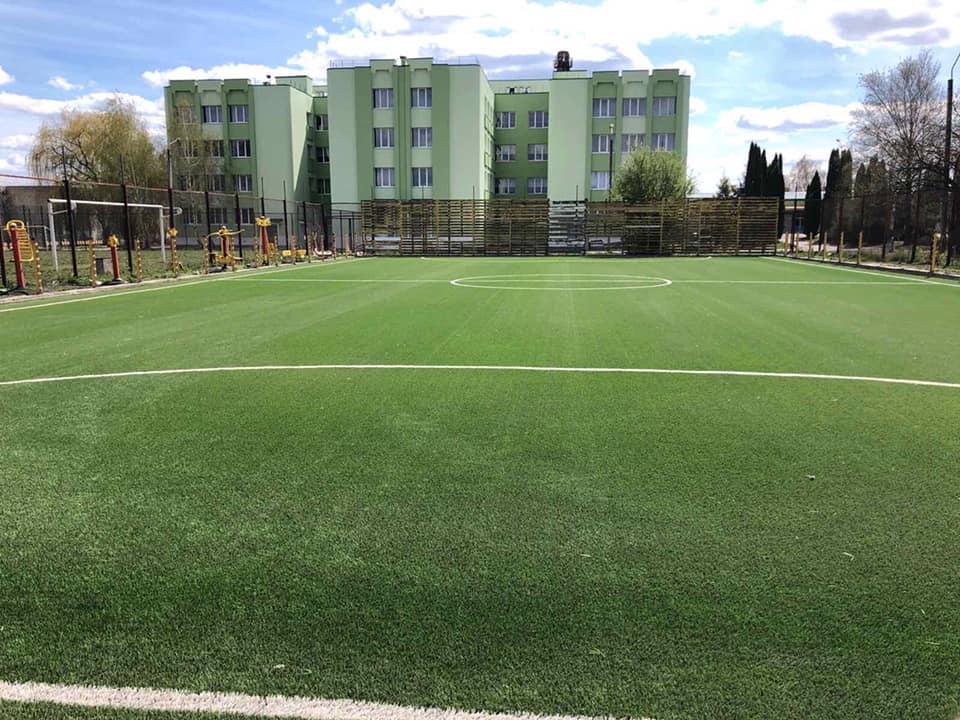 Мініфутбольний майданчик на базі спортивної школи